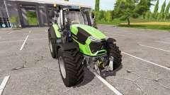 Deutz-Fahr 9290 TTV v1.5 para Farming Simulator 2017