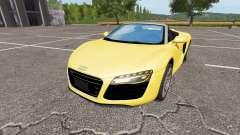 Audi R8 V10 Spyder v1.1 para Farming Simulator 2017