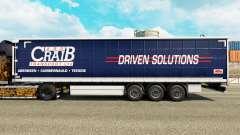 La piel ARR Craib de Transporte en semi-remolque de la cortina para Euro Truck Simulator 2