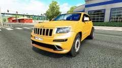 Jeep Grand Cherokee SRT8 v1.1 para Euro Truck Simulator 2