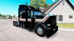 El transporte de la piel para el camión Peterbilt 389 para American Truck Simulator