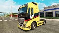 La oruga de la piel para camiones Volvo para Euro Truck Simulator 2