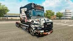 La piel de NFS most Wanted para camión Scania T para Euro Truck Simulator 2
