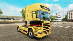 La piel de la Oruga tractor Scania para Euro Truck Simulator 2