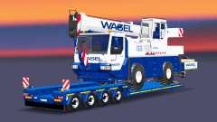 Baja de barrido con Liebherr LTM 1030 para Euro Truck Simulator 2