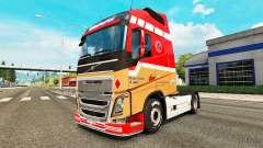 Ronny Ceusters de la piel para camiones Volvo para Euro Truck Simulator 2