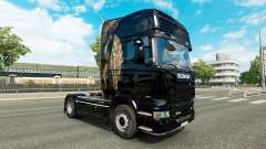 La piel de camiones Scania para Euro Truck Simulator 2