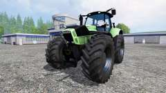 Deutz-Fahr Agrotron X 720 black wheels para Farming Simulator 2015