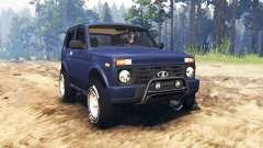 ВАЗ-21214 (Lada 4x4 Urban) para Spin Tires
