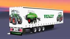 Cortina semi-remolque Schmitz Cargobull Fendt v2.0 para Euro Truck Simulator 2