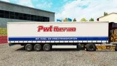 La piel PWT Termo en una cortina semi-remolque para Euro Truck Simulator 2