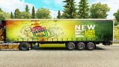 La piel Desperados en una cortina semi-remolque para Euro Truck Simulator 2
