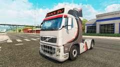 Givar BV de la piel para camiones Volvo para Euro Truck Simulator 2