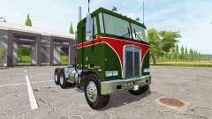 Kenworth K100 1978 para Farming Simulator 2017