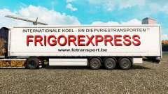 La piel Frigorexpress en una cortina semi-remolque para Euro Truck Simulator 2