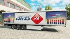 La piel de Aras en refrigerada semi-remolque para Euro Truck Simulator 2