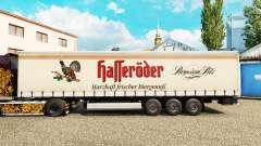 La piel Halleroder en una cortina semi-remolque para Euro Truck Simulator 2
