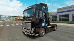 La pantera de piel para camiones Volvo para Euro Truck Simulator 2