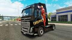 Hombre de hierro de la piel para camiones Volvo para Euro Truck Simulator 2