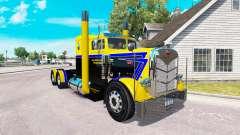La piel de Larga Carretera Transporte por camión Peterbilt 351 para American Truck Simulator