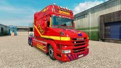 La piel de camiones Scania T para Euro Truck Simulator 2