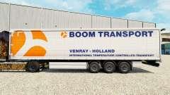 La piel Auge de Transporte en semi-remolque de la cortina para Euro Truck Simulator 2