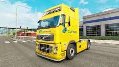 Correios de la piel para camiones Volvo para Euro Truck Simulator 2