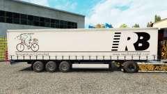 Reed Boardall de la piel en el trailer de la cortina para Euro Truck Simulator 2