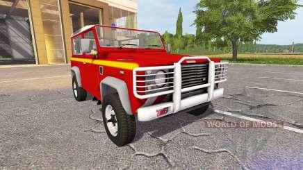 Land Rover Defender 90 VLTT para Farming Simulator 2017