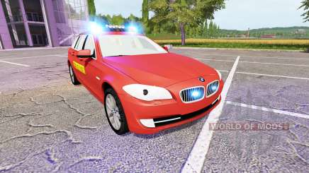 BMW 530d Touring (F11) Feuerwehr para Farming Simulator 2017