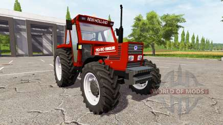New Holland 110-90 Fiatagri red para Farming Simulator 2017