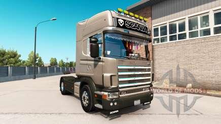 Scania 164L 580 Topline para American Truck Simulator