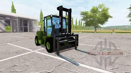 Clark C80D para Farming Simulator 2017