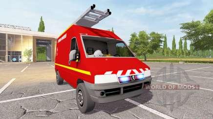 Peugeot Boxer (244) VTU para Farming Simulator 2017