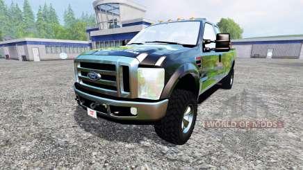 Ford F-350 XLT Super Duty para Farming Simulator 2015