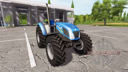 New Holland T4.75 v1.17 para Farming Simulator 2017