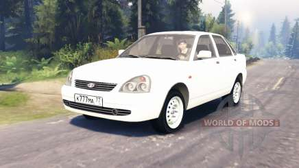 LADA Priora (ВАЗ-2170) para Spin Tires