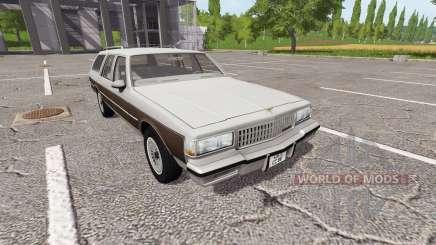 Chevrolet Caprice Estate Wagon 1989 para Farming Simulator 2017