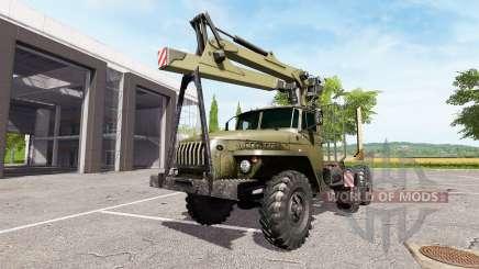 Ural-4320 camión para Farming Simulator 2017