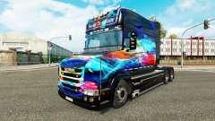 Neón de la piel para camión Scania T para Euro Truck Simulator 2