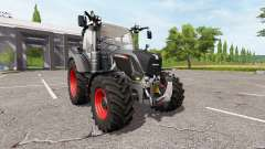 Fendt 310 Vario black beauty para Farming Simulator 2017