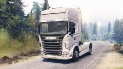 Scania R730 2009 4x4 para Spin Tires
