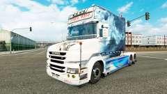 El humo de la piel para camión Scania T para Euro Truck Simulator 2