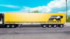 De cuatro ejes con semi-remolque para American Truck Simulator