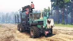 T-150K 6x6 para Spin Tires