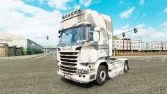 La piel del Ejército en el tractor Scania para Euro Truck Simulator 2