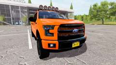 Ford F-150 Lariat SuperCrew para Farming Simulator 2017