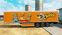 La piel de Cheetos en refrigerada semi-remolque para Euro Truck Simulator 2
