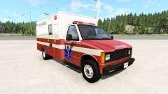 Gavril H-Series San Andreas Ambulance v0.1 para BeamNG Drive