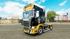 La Juventus de la piel para Scania camión para Euro Truck Simulator 2